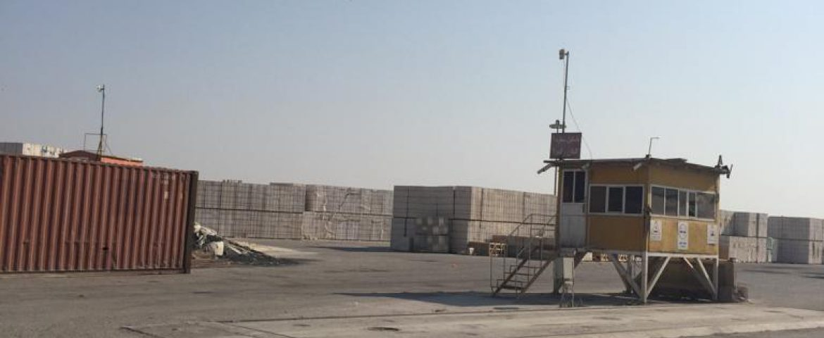 Getting ready to start the export and transit activities with Iraq